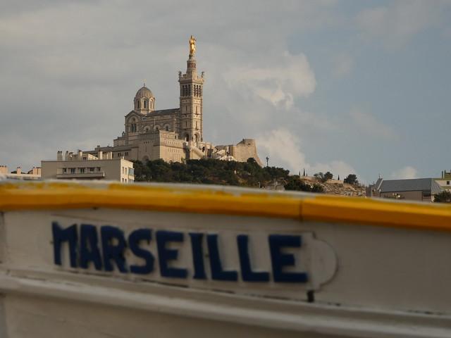 Notre-Dame la Garde en Marsella