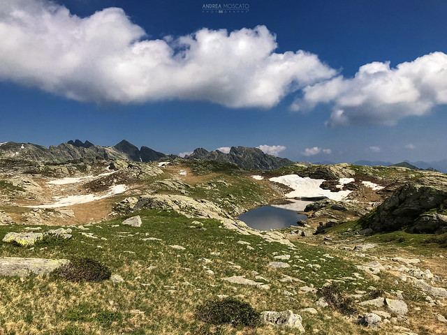 Lago di Variola di Mezzo - Alta Val Bognanco (Italy)