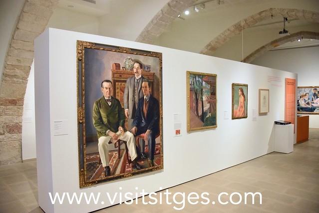 EXPOSICIÓ REALISME(S) A CATALUNYA (1917-1936)... MUSEUS DE SITGES 2019