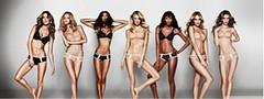 Los Angeles de Victoria's Secret posan para la marca de ropa