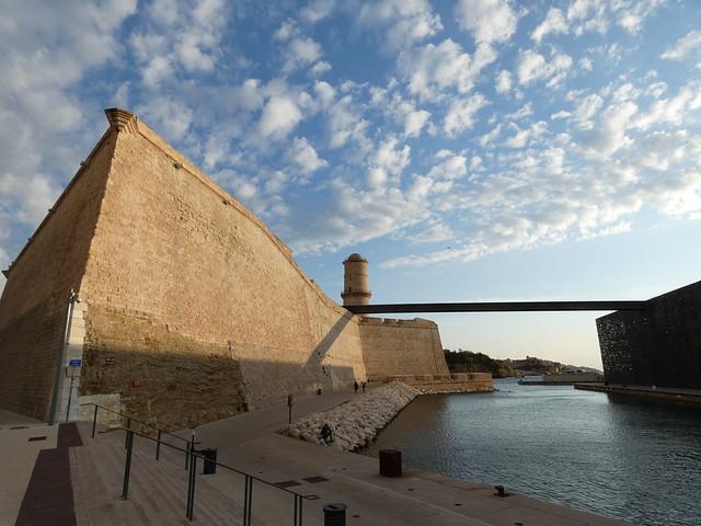 El Fuerte de Saint Jean y el nuevo MUCEM son dos imprescindibles que ver en Marsella