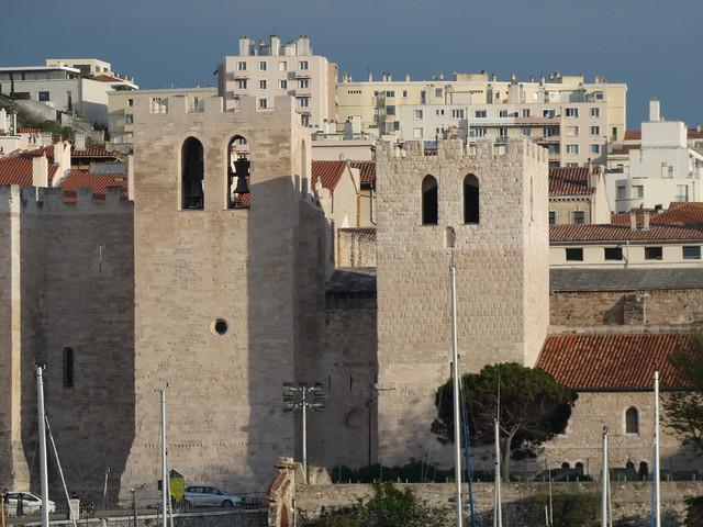 Abadía de San Víctor en Marsella (Francia)