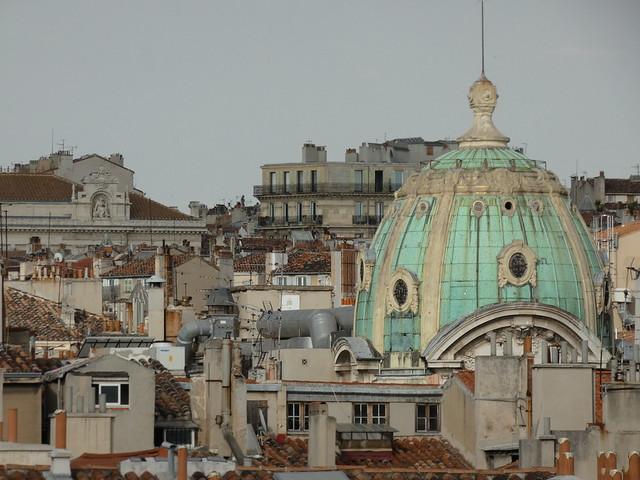 Tejados de Marsella (Francia)
