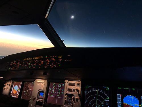 JetSMART eclipse cockpit (JetSMART)