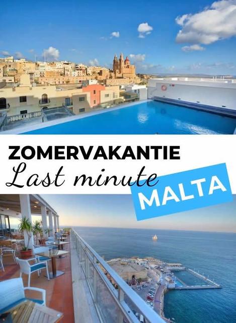 Last minute Malta, bekijk de aanbiedingen   Malta & Gozo
