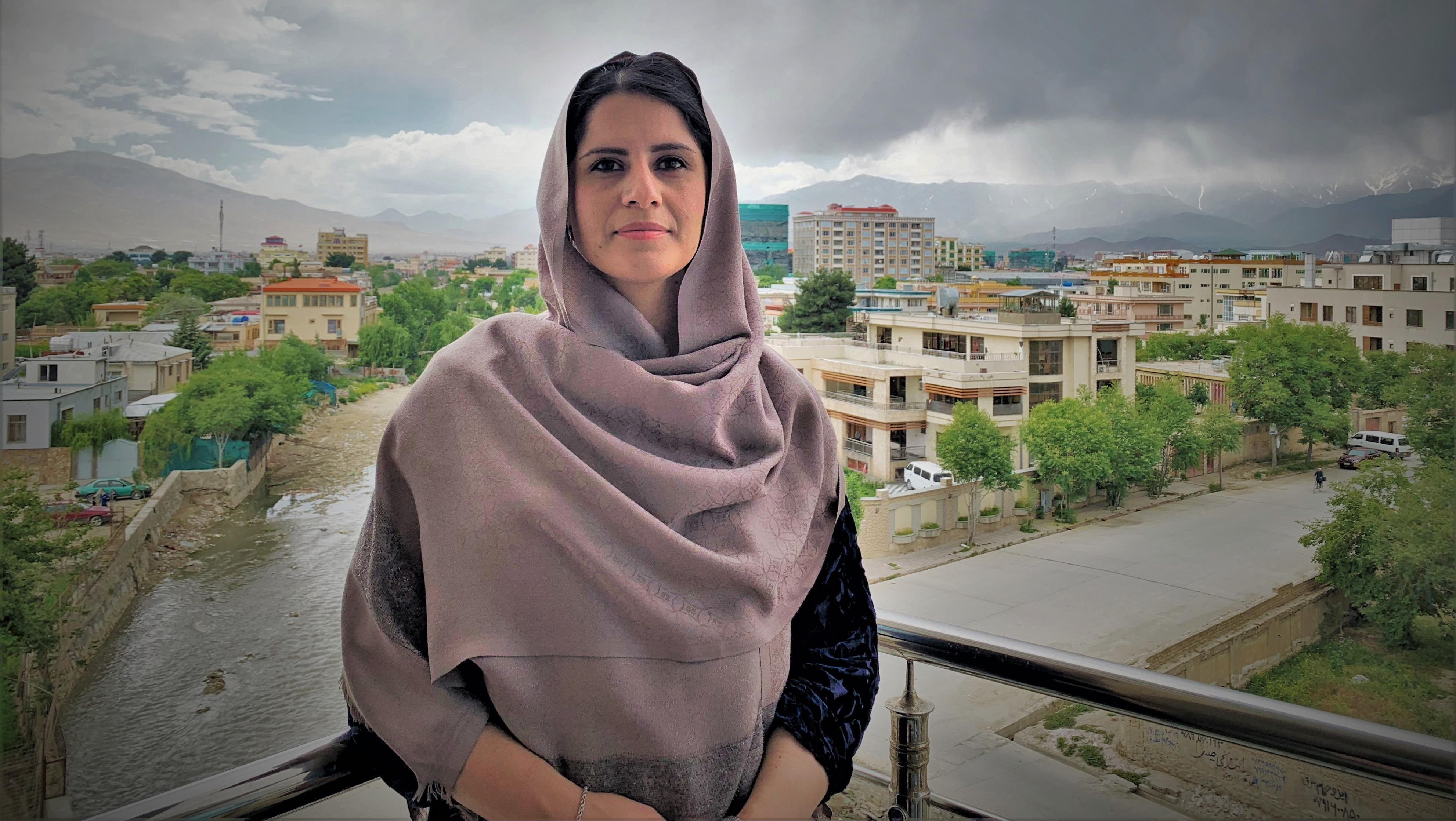 Farishta Hellali in Kabul