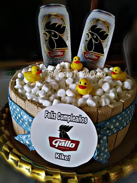 Cake by Gelatinas y Pasteles Tico's