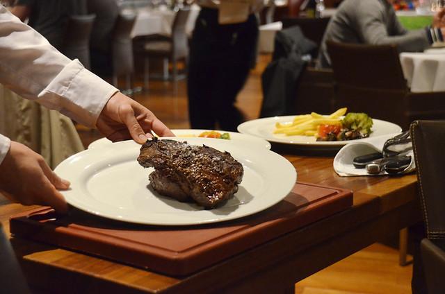Steak at Brunelli's, Puerto de la Cruz, Tenerife