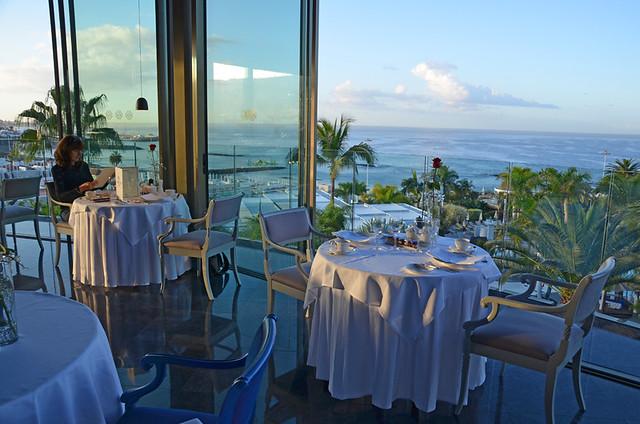 La Cupula restaurant, Costa Adeje, Tenerife