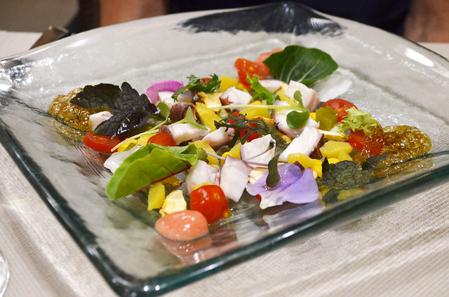 Colourful salad, Solana, Santa Cruz, Tenerife