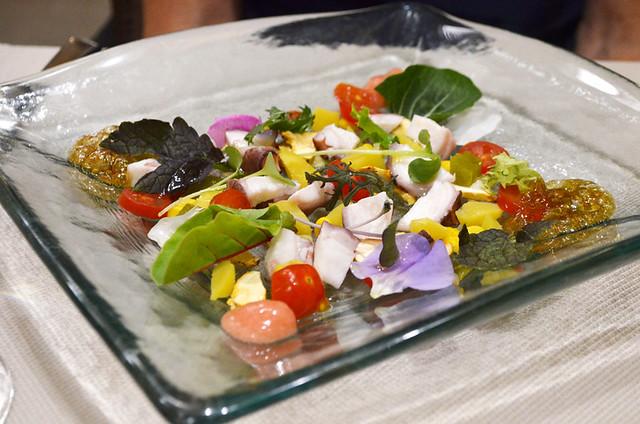Colourful salad, Solana, Santa Cruz, Tenerife
