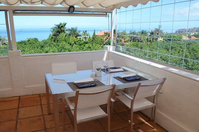 View from terrace at Haydee, La Orotava, Tenerife