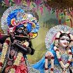 Hare Krishna Temple Ahmedabad Deity Darshan 03 July 2019