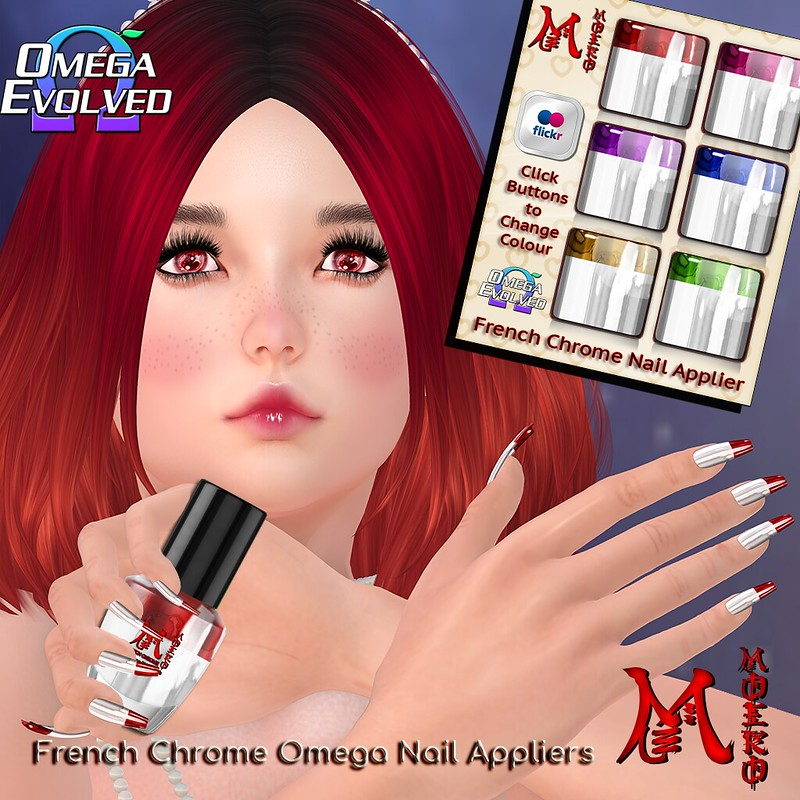 MOEKO French Chrome Nail Ad1024