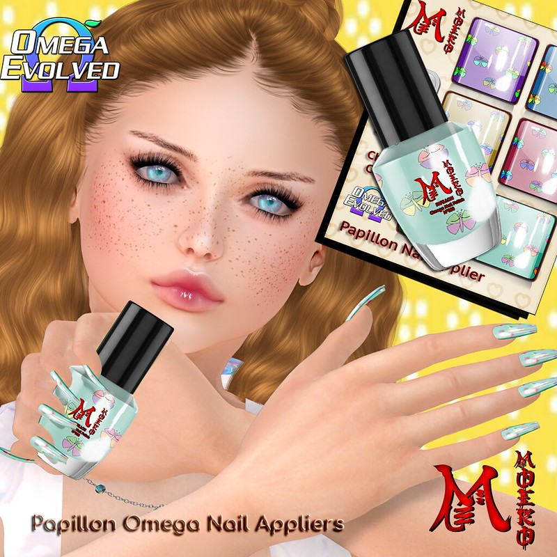 MOEKO Papillon Nails Ad