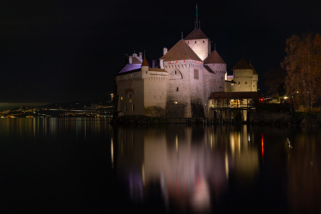 Chillon by Night