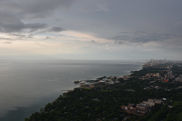 Over Evanston, Early Morning