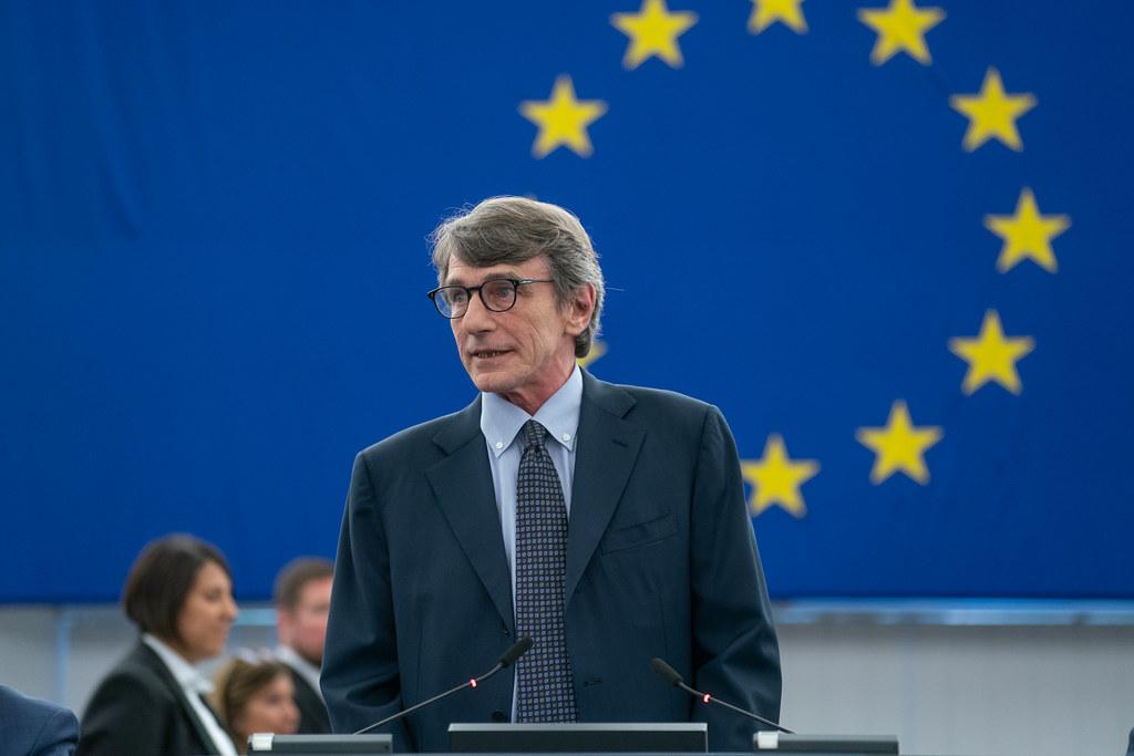David-Maria SASSOLI, the new President of the European Parliament