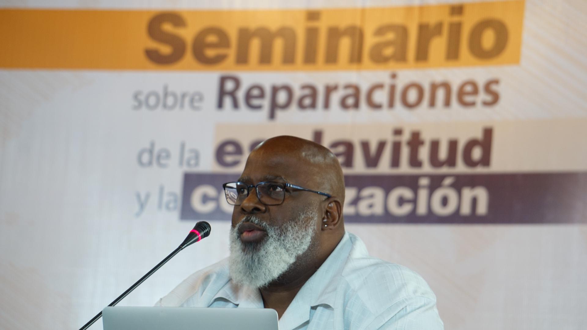 Seminario sobre reparaciones de la esclavitud y la colonización