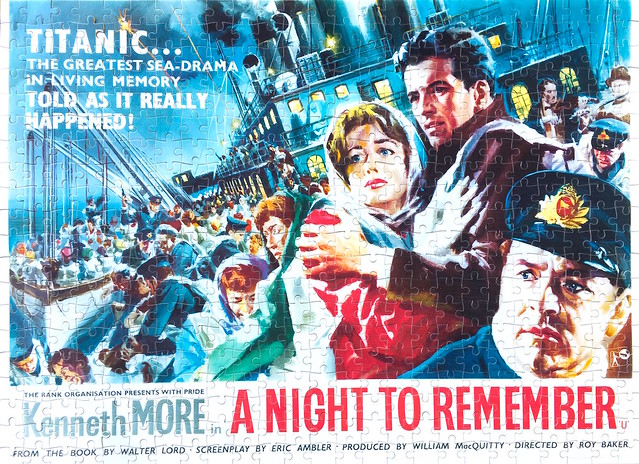 A Night to Remember Movie Posters (500pcs)