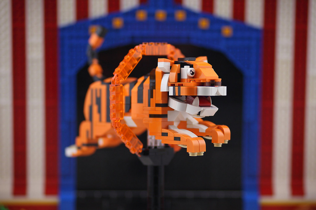 Animal Circus Tiger (custom built Lego model)