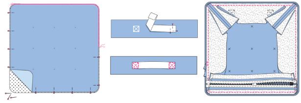 Pillow Parade SEAT STEPS