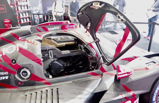 Step inside Rebellion Racing's LMP1