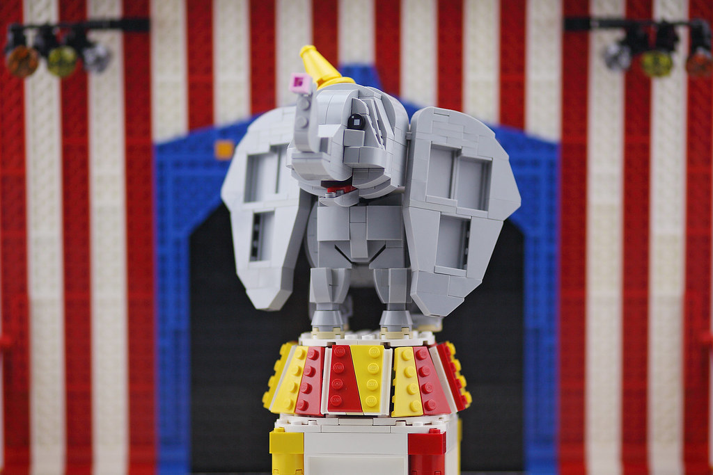 Animal Circus Elephant (custom built Lego model)