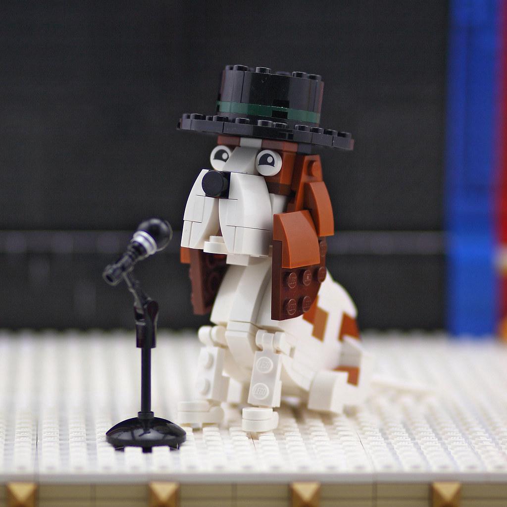 Animal Circus Dog (custom built Lego model)