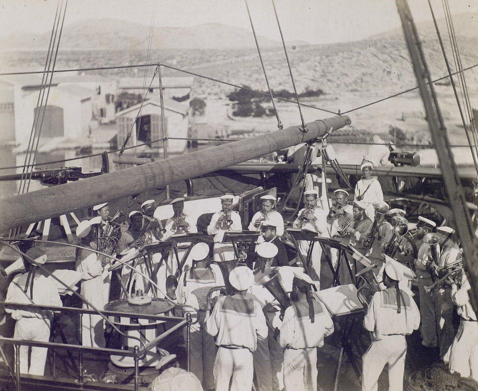 20. 1890. Оркестр фрегата «Память Азова»