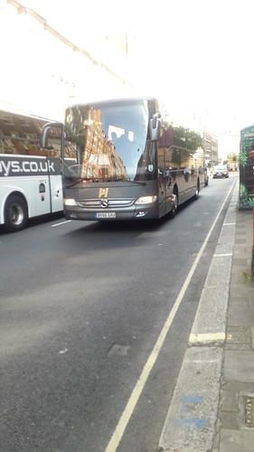 Hearns Coaches Mercedes Tourismo BV66 GXU