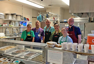 Serving Lunch at Community Care Fellowshiip | by GlendaleUMC