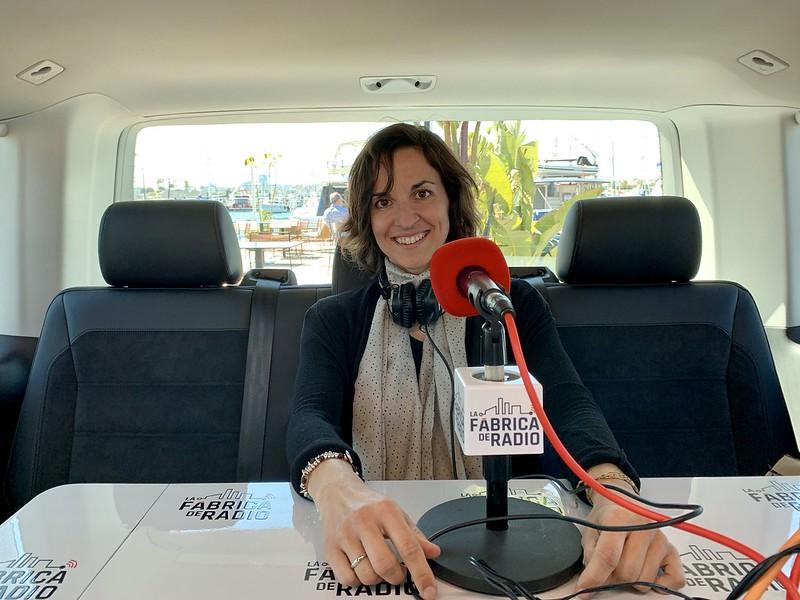 Foto TIB 2019 07 03 Elena Benito Ruiz La Fabrica de Radio Paco Cremades