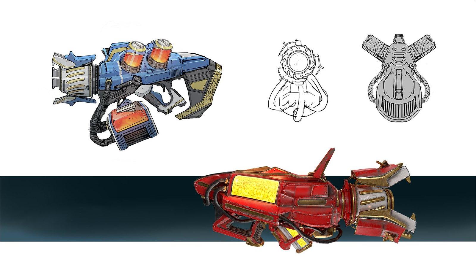 Telefrag VR - Flak Cannon concept