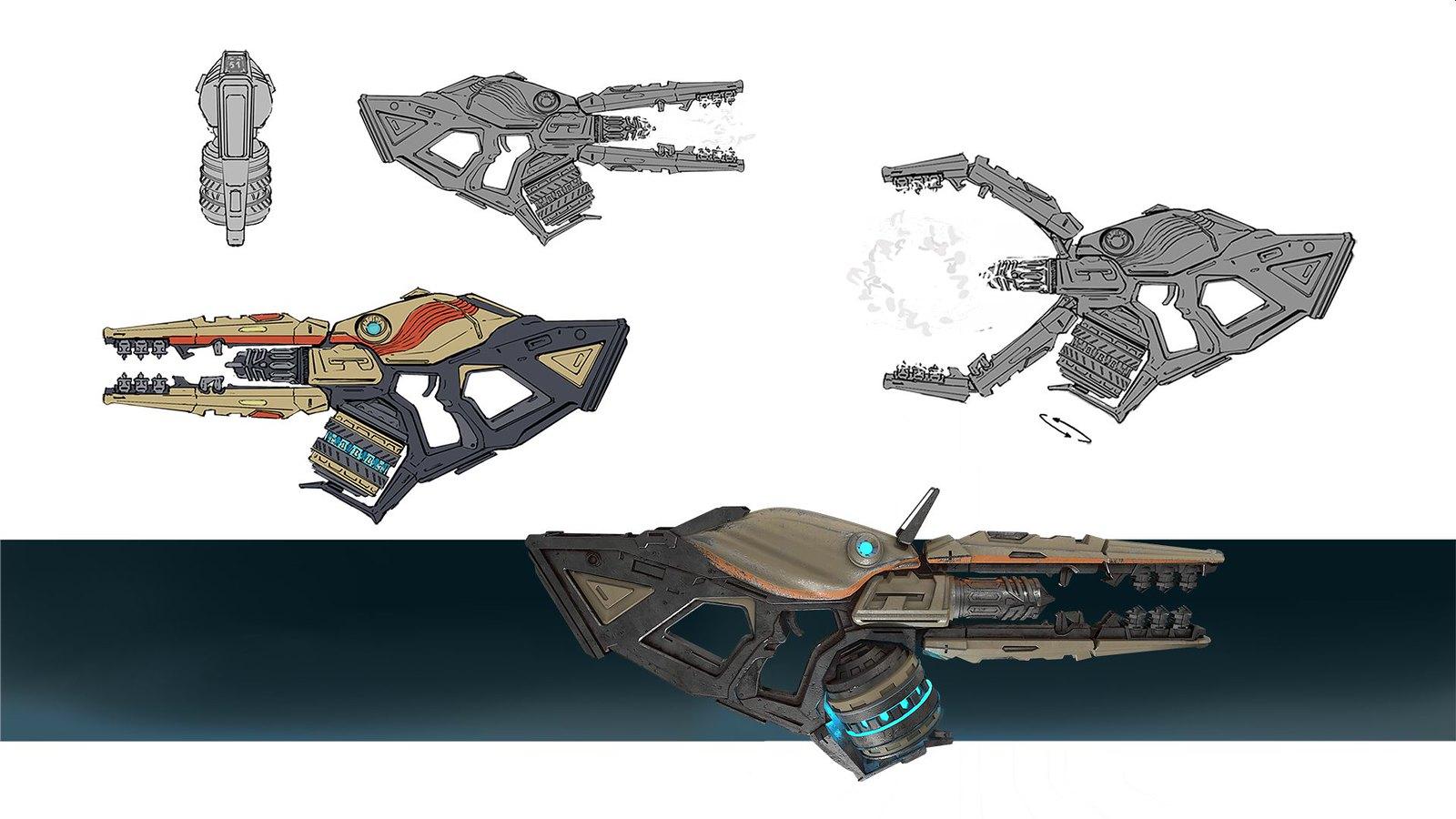 Telefrag VR - Plasma rifle concept
