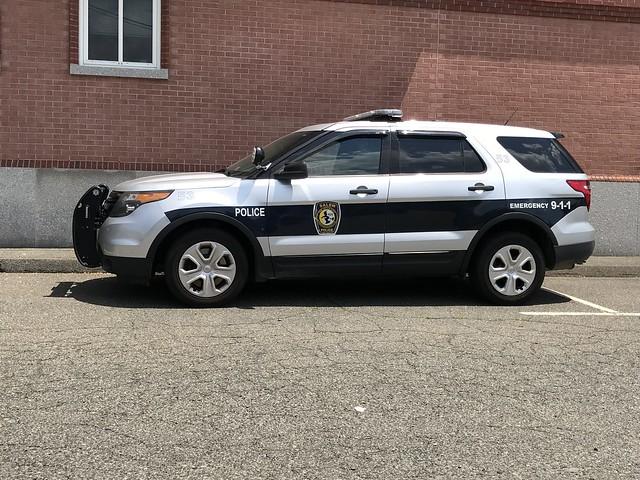 Salem, MA Police Ford Police Interceptor Utility (53)