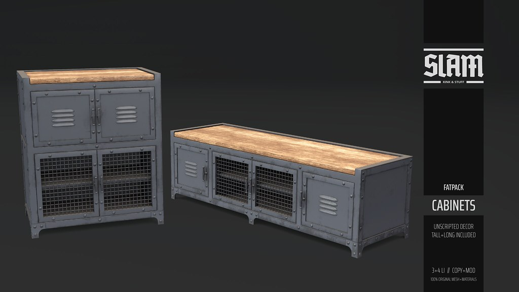SLAM // cabinets