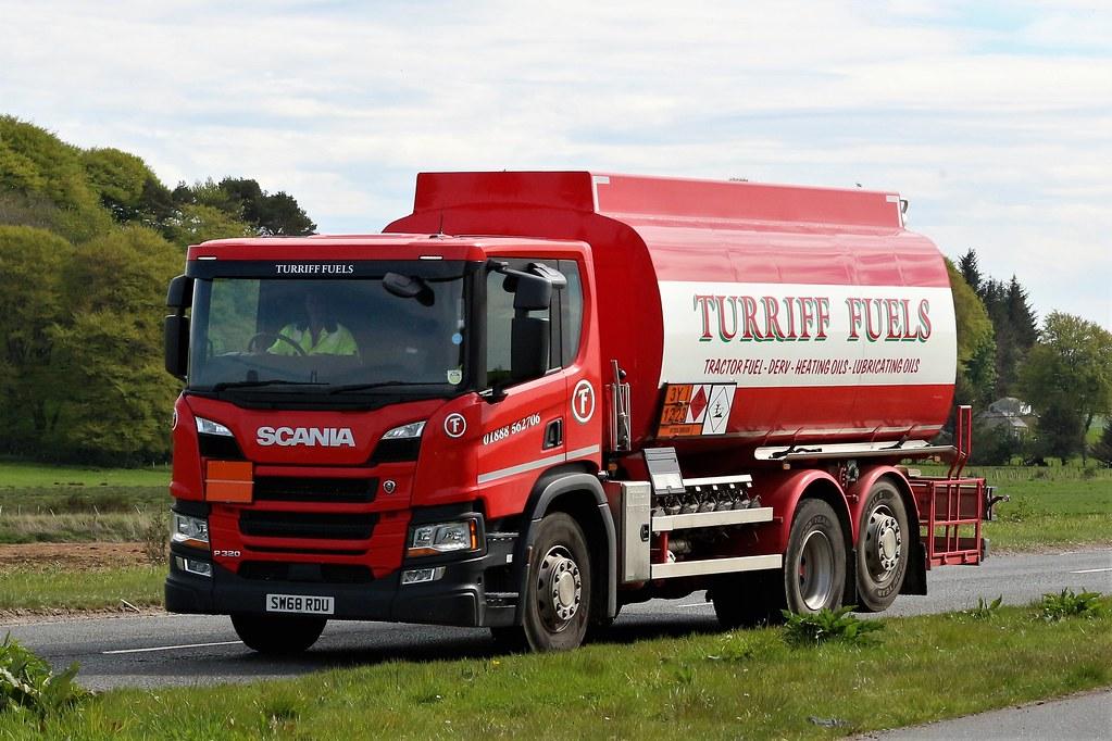 Turriff Fuels Scania P320 SW68RDU