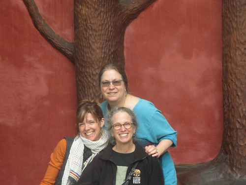 Cat, Susanne, and Laurie in Portland