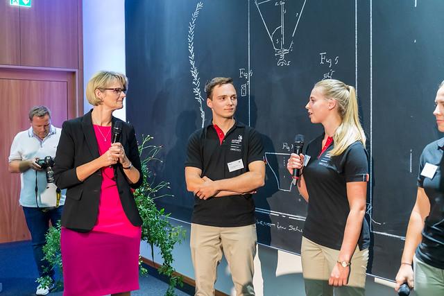Team Germany - Empfang im BMBF Juni 2019