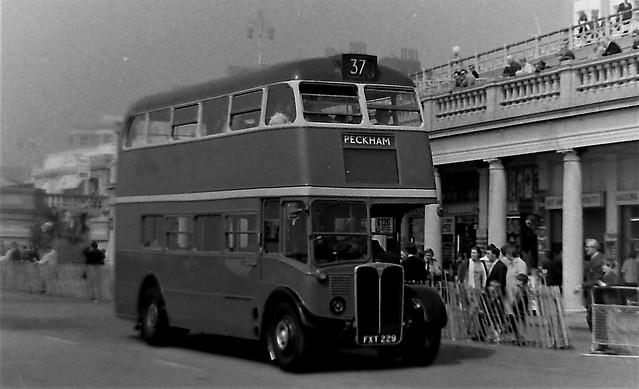 London transport RT54 at Brighton May 1970.