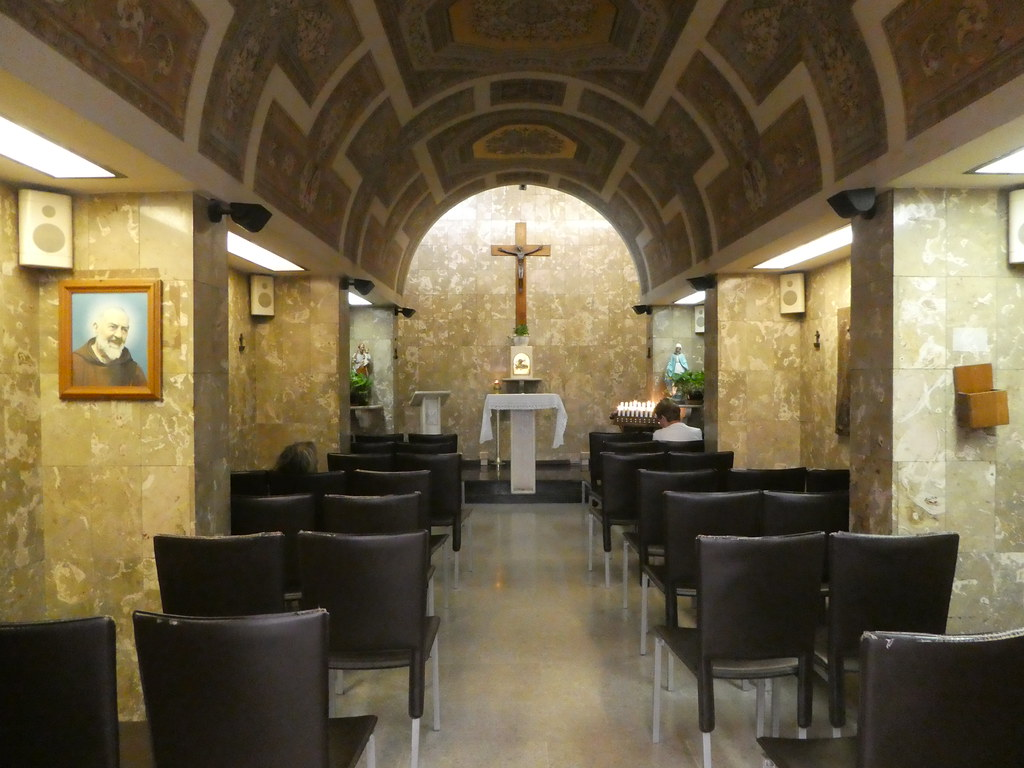 Chapel at Palermo Centrale Station