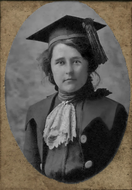 Bess Allison - High School Graduation 1902