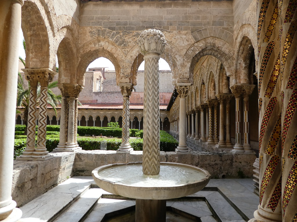 Cloisters of Monreale Cathedral