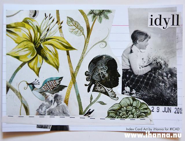 Index card art IDYLL 2019-06-29 ICAD by iHanna