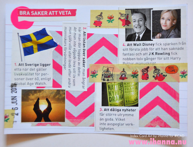 Index card art GOOD News 2019-06-26 ICAD by iHanna