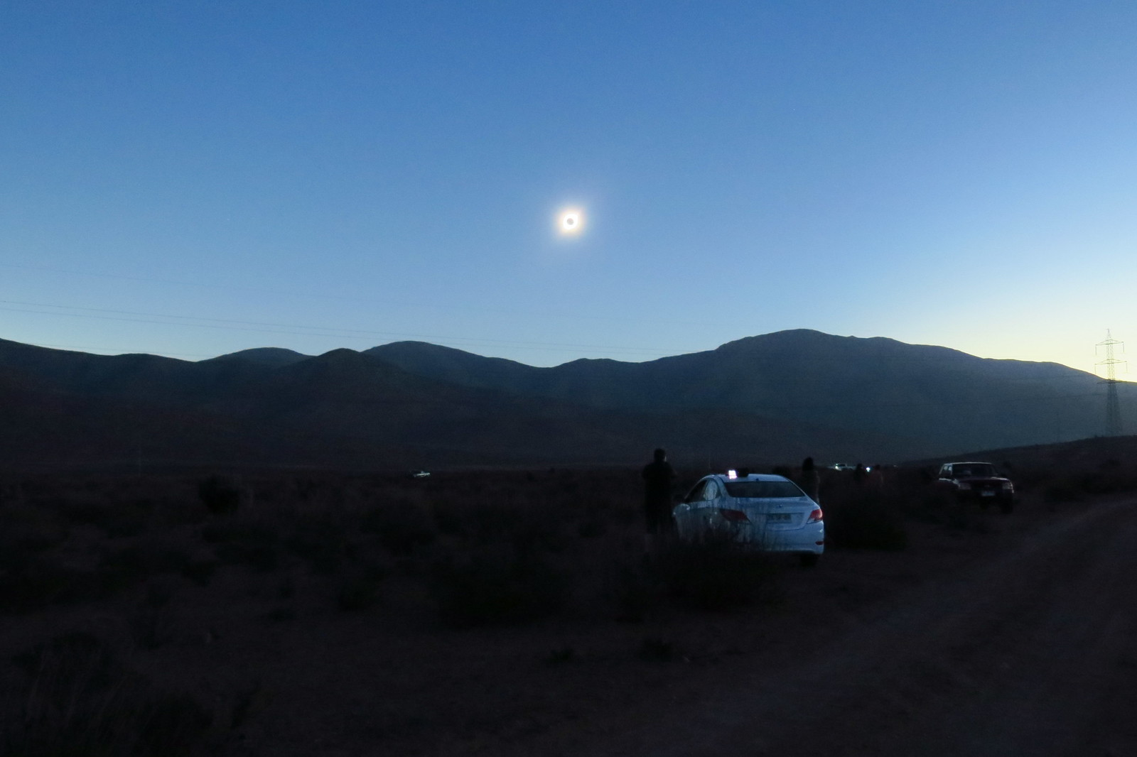 Eclipse in Chile