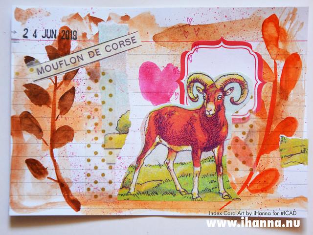 Index card art 2019-06-24 ICAD by iHanna