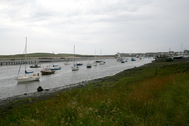 The river Coquet at Amble