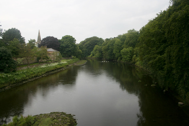The River Coquet in Warkworth